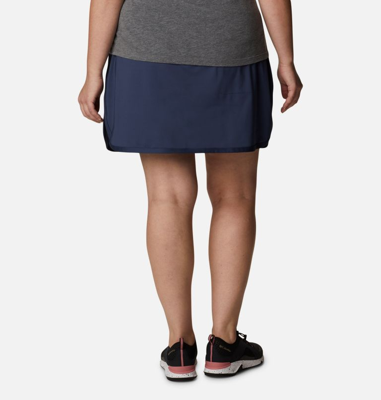 Sandy Creek™ Stretch Skort | 466 | 1X Women's Sandy Creek™ Stretch Skort - Plus Size, Nocturnal, back