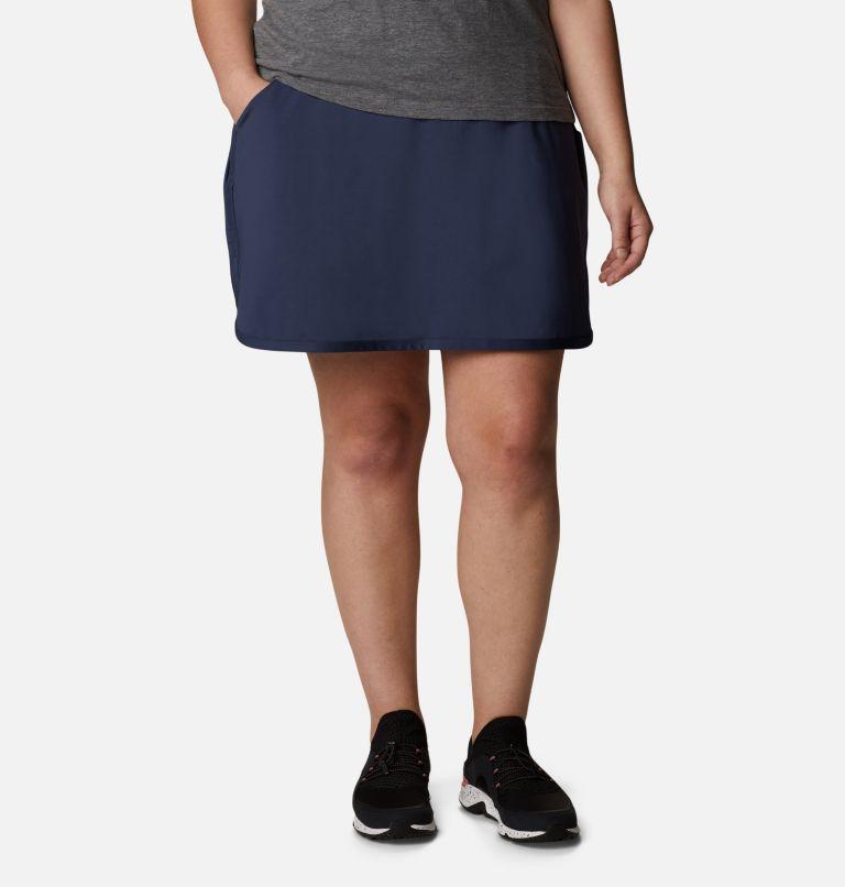 Sandy Creek™ Stretch Skort | 466 | 1X Women's Sandy Creek™ Stretch Skort - Plus Size, Nocturnal, front