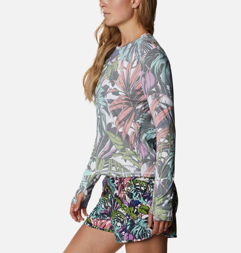 W Sun Deflector Summerdry™ LS Shirt   101   S Women's Sun Deflector Summerdry™ Long Sleeve Shirt, White Toucanical Multi Print, a1