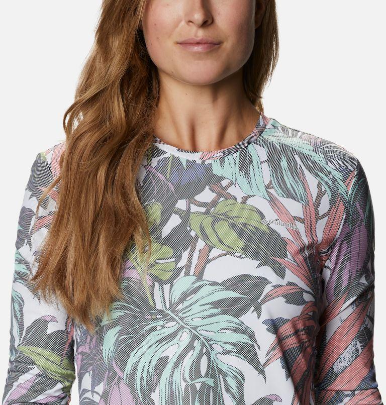 W Sun Deflector Summerdry™ LS Shirt   101   S Women's Sun Deflector Summerdry™ Long Sleeve Shirt, White Toucanical Multi Print, a2