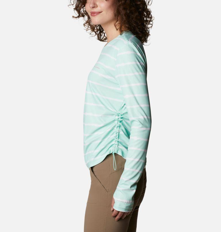 W Sun Deflector Summerdry™ LS Shirt | 368 | M Women's Sun Deflector Summerdry™ Long Sleeve Shirt, Mint Cay Tie Dye Stripe, a1
