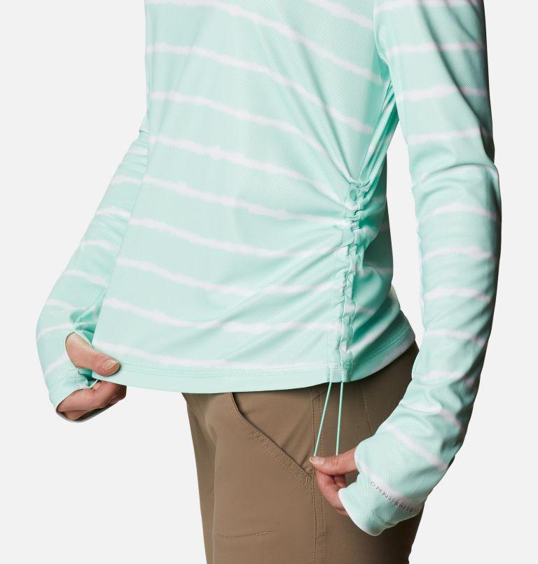 W Sun Deflector Summerdry™ LS Shirt | 368 | M Women's Sun Deflector Summerdry™ Long Sleeve Shirt, Mint Cay Tie Dye Stripe, a4