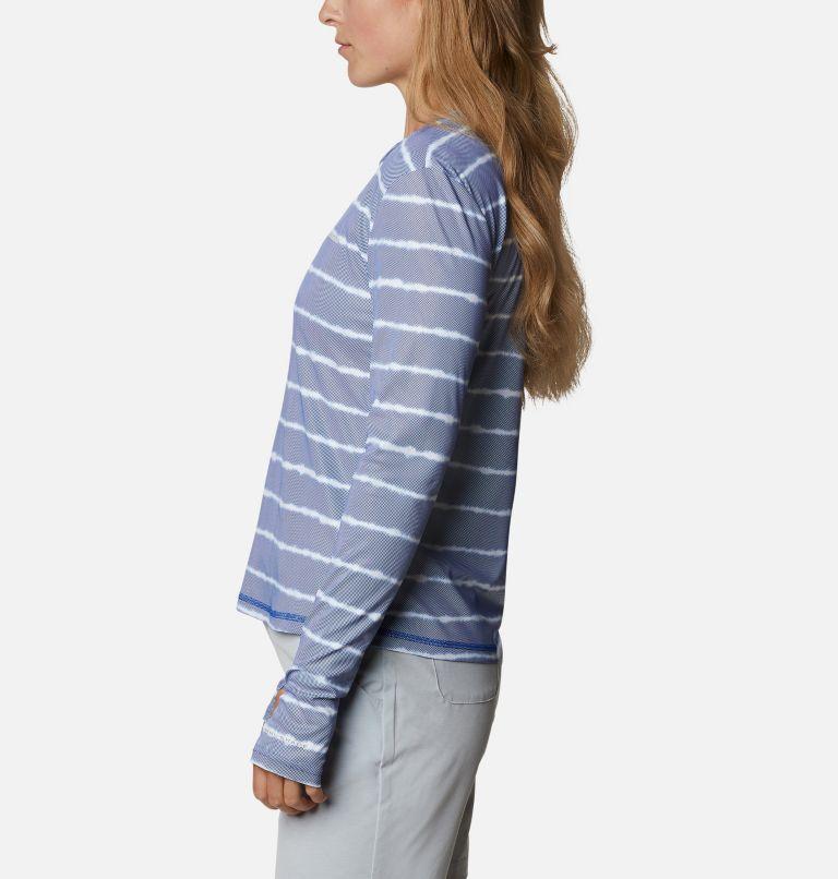 W Sun Deflector Summerdry™ LS Shirt   410   XS Women's Sun Deflector Summerdry™ Long Sleeve Shirt, Lapis Blue Tie Dye Stripe, a1