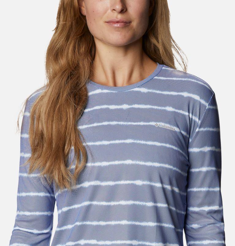 W Sun Deflector Summerdry™ LS Shirt   410   XS Women's Sun Deflector Summerdry™ Long Sleeve Shirt, Lapis Blue Tie Dye Stripe, a2