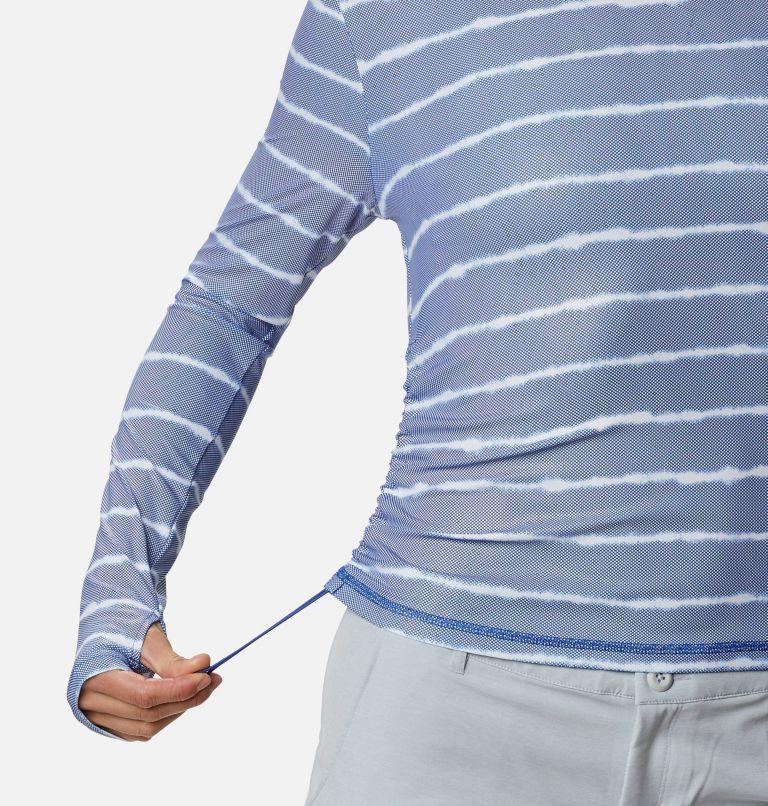 W Sun Deflector Summerdry™ LS Shirt   410   XS Women's Sun Deflector Summerdry™ Long Sleeve Shirt, Lapis Blue Tie Dye Stripe, a4