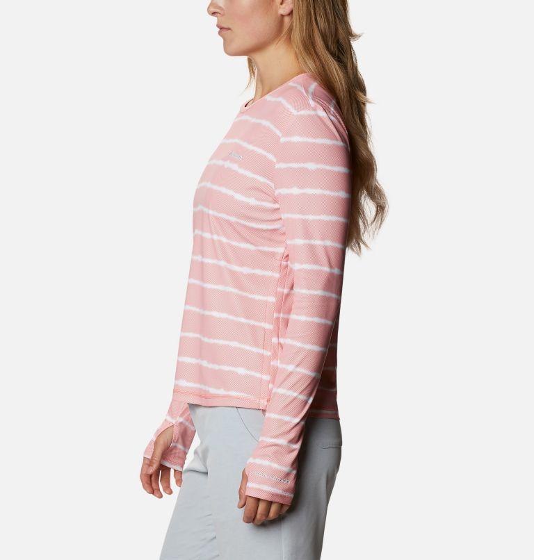 W Sun Deflector Summerdry™ LS Shirt | 699 | M Women's Sun Deflector Summerdry™ Long Sleeve Shirt, Salmon Tie Dye Stripe, a1