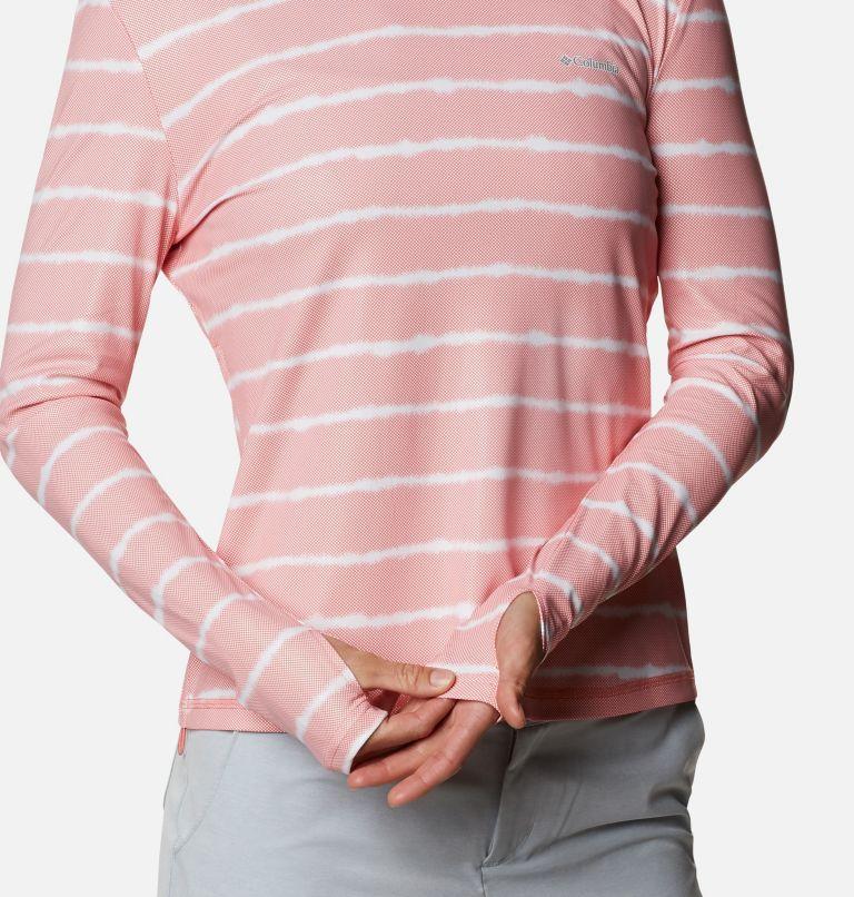 W Sun Deflector Summerdry™ LS Shirt | 699 | M Women's Sun Deflector Summerdry™ Long Sleeve Shirt, Salmon Tie Dye Stripe, a3