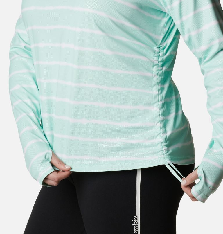 Women's Sun Deflector Summerdry™ Long Sleeve Shirt - Plus Size Women's Sun Deflector Summerdry™ Long Sleeve Shirt - Plus Size, a4