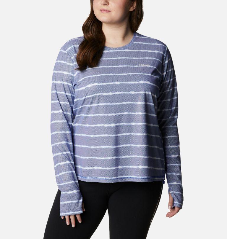 Women's Sun Deflector Summerdry™ Long Sleeve Shirt - Plus Size Women's Sun Deflector Summerdry™ Long Sleeve Shirt - Plus Size, front