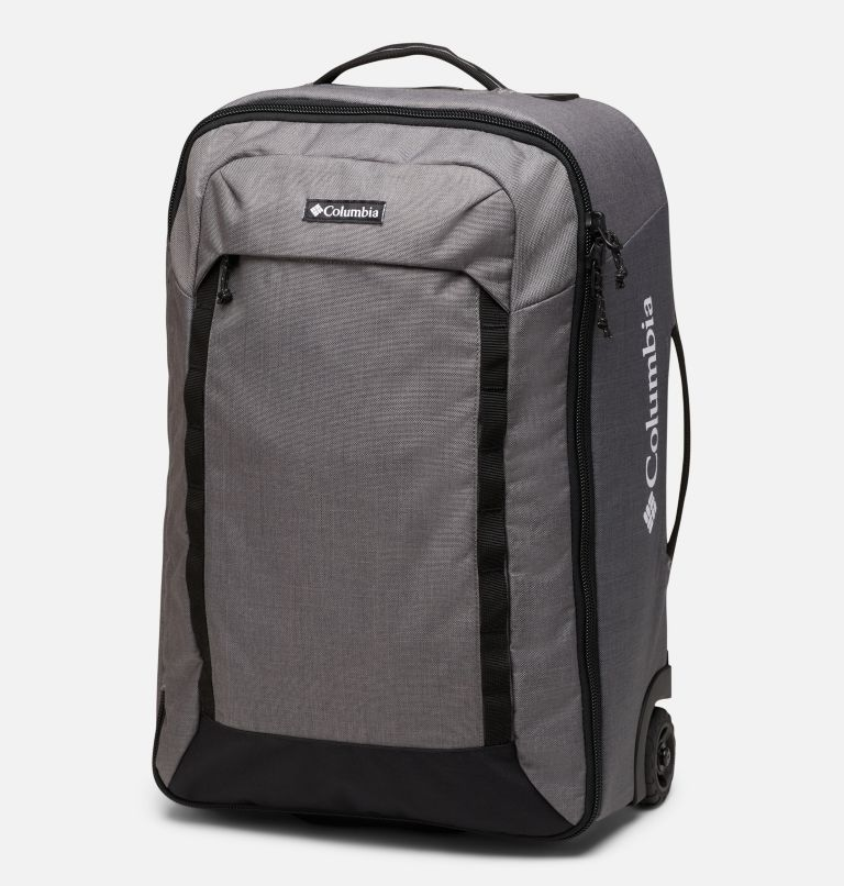 Mazama™ 42L Carry On Roller   024   O/S Mazama™ 42L Carry On Roller Suitcase, City Grey Heather, front