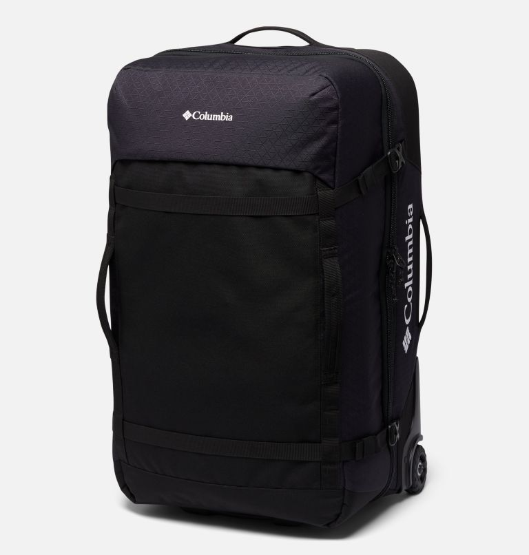 Mazama™ 75L Wheeled Travel Bag   011   O/S Sac de voyage à roulettes Mazama™ 75L, Black, front