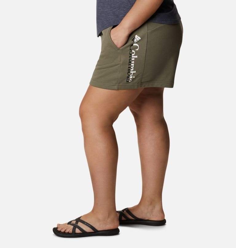 Women's Columbia Logo™ II French Terry Shorts - Plus Size Women's Columbia Logo™ II French Terry Shorts - Plus Size, a1