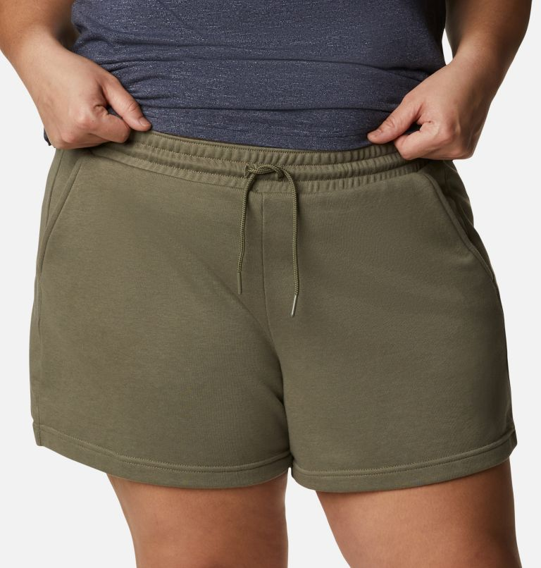 Women's Columbia Logo™ II French Terry Shorts - Plus Size Women's Columbia Logo™ II French Terry Shorts - Plus Size, a2