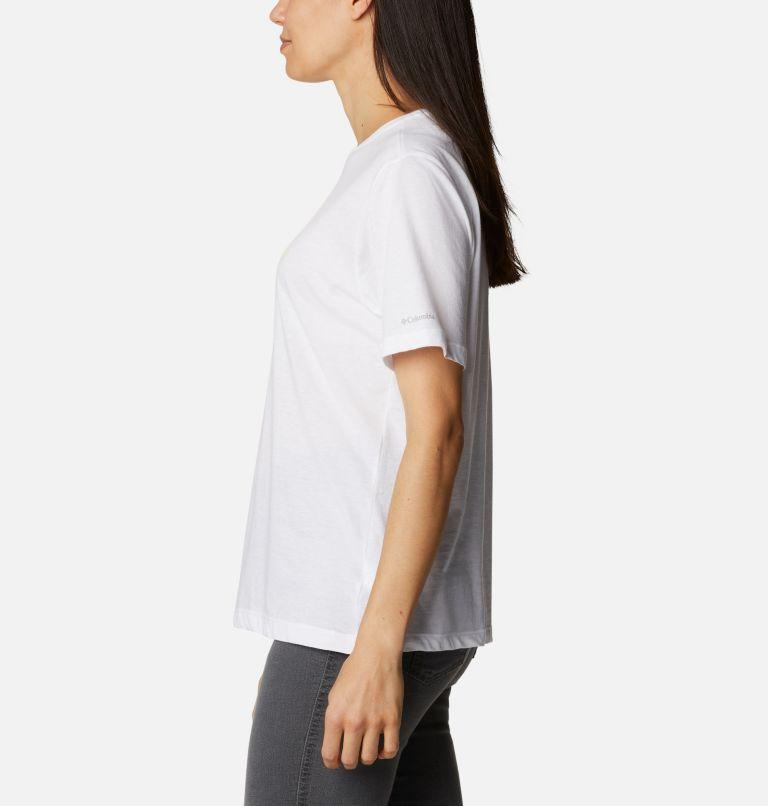 Bluebird Day™ Relaxed Crew Neck | 101 | XS Women's Bluebird Day™ Relaxed Crew Neck Shirt, White, Multi Gem Graphic, a1