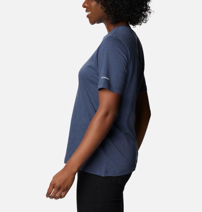 Bluebird Day™ Relaxed Crew Neck | 467 | M Women's Bluebird Day™ Relaxed Crew Neck Shirt, Nocturnal Heather, Multi Gem Print, a1