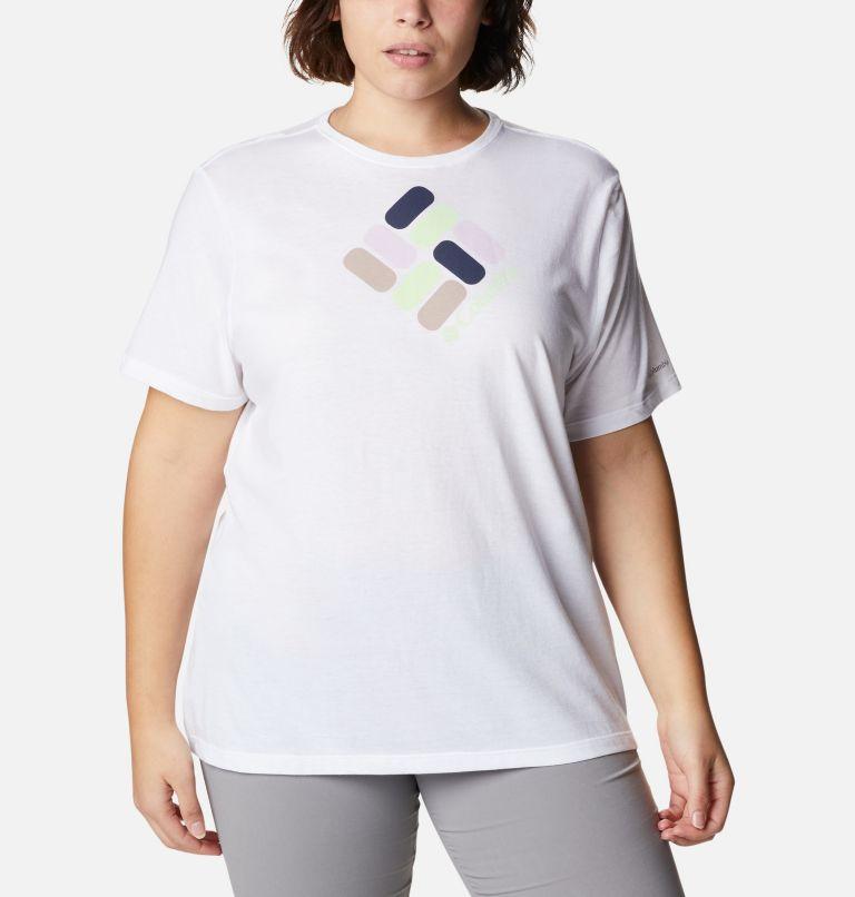 Women's Bluebird Day™ Relaxed Crew Neck Top Shirt - Plus Size Women's Bluebird Day™ Relaxed Crew Neck Top Shirt - Plus Size, front