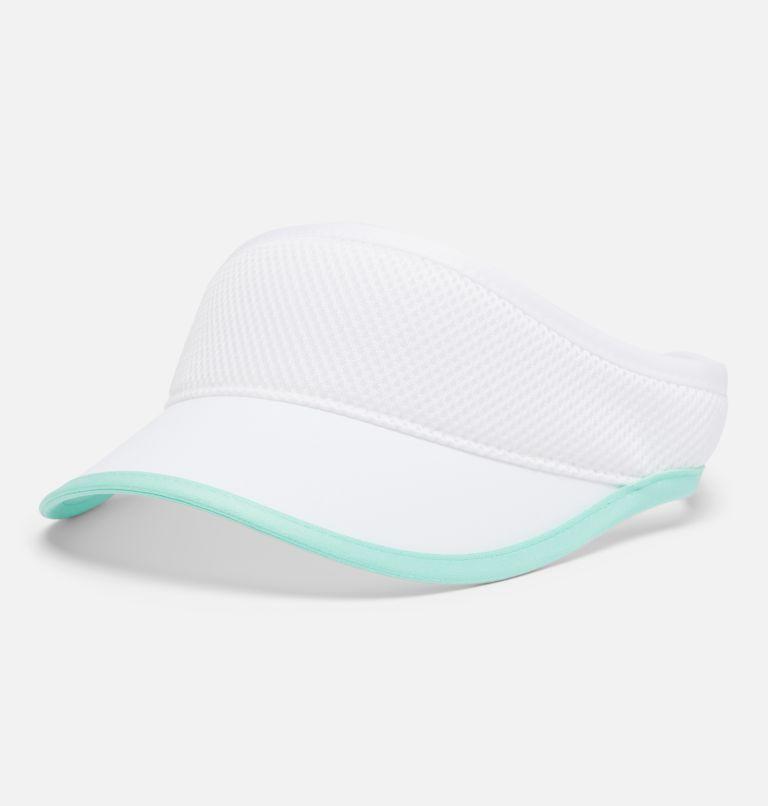 Uptown Crest™ Visor | 100 | O/S Visière Uptown Crest™, White, Mint Cay, front