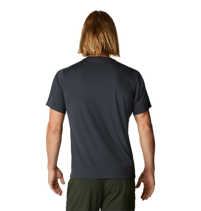 Wicked Tech™ Short Sleeve T | 004 | XS Men's Wicked Tech™ Recycled Short Sleeve T-Shirt, Dark Storm, back