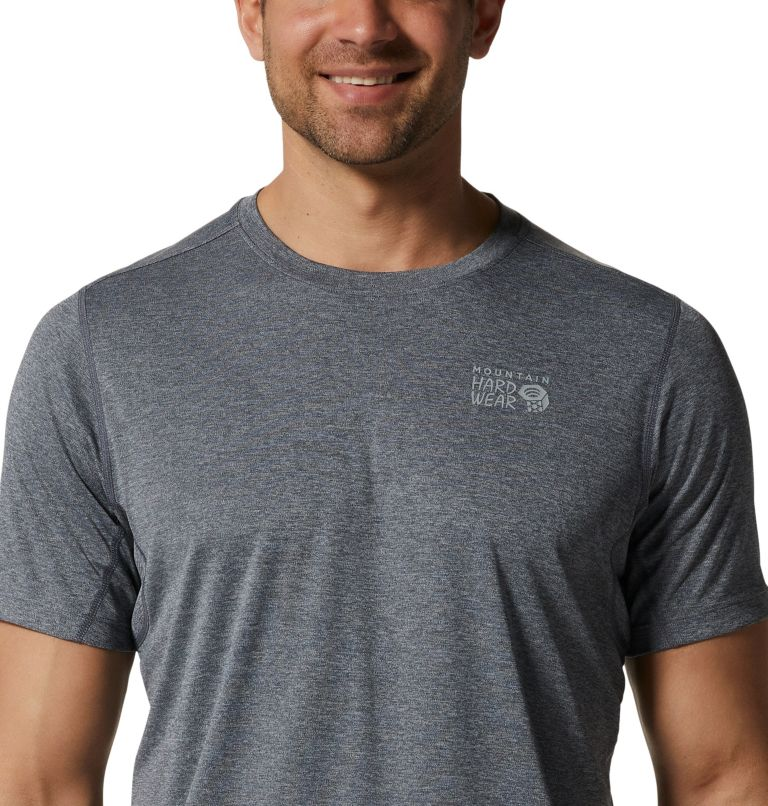 Wicked Tech™ Short Sleeve T | 054 | XL Men's Wicked Tech™ Recycled Short Sleeve T-Shirt, Heather Graphite, a2