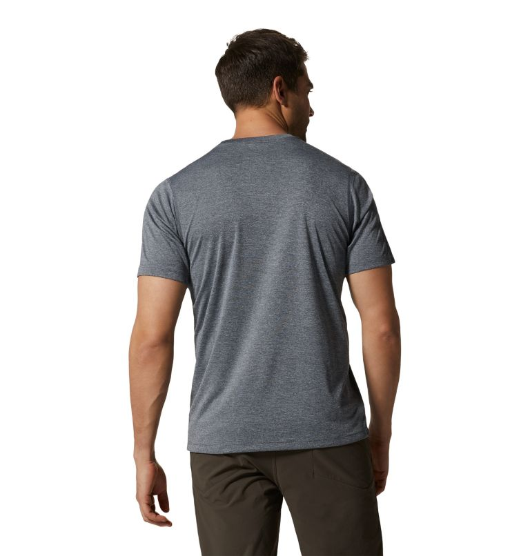 Wicked Tech™ Short Sleeve T | 054 | XL Men's Wicked Tech™ Recycled Short Sleeve T-Shirt, Heather Graphite, back