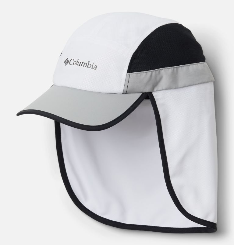 Sun Deflector™ II Ball Cap | 100 | O/S Sun Deflector™ II Ball Cap, White, Columbia Grey, Black, back
