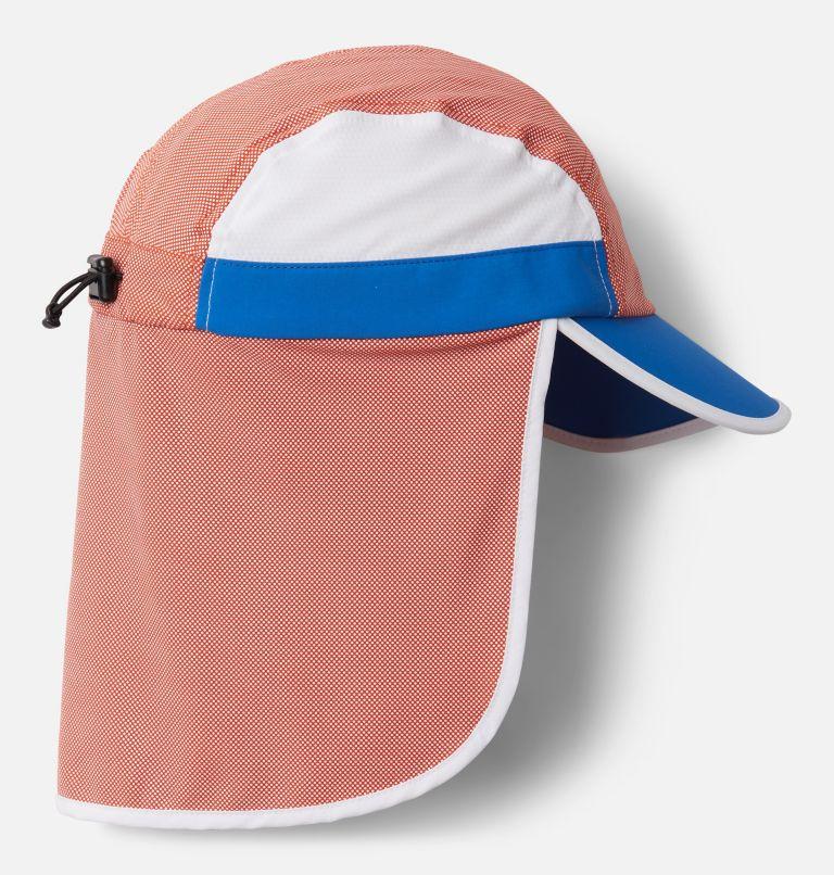 Sun Deflector™ II Ball Cap | 846 | O/S Unisex Sun Deflector™ II Ball Cap, Bonfire, Bright Indigo, White, back