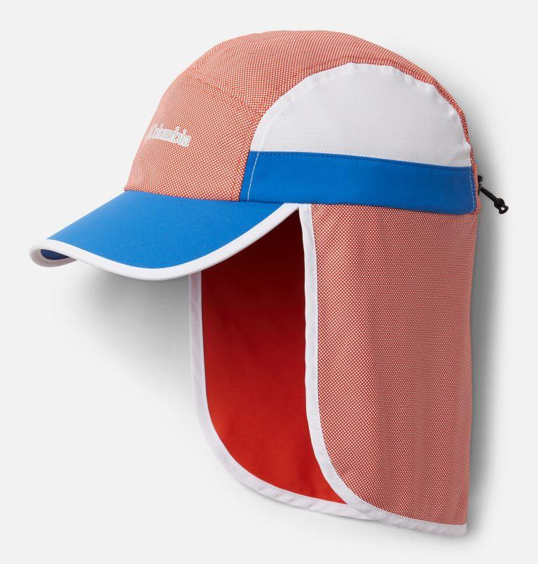 Sun Deflector™ II Ball Cap | 846 | O/S Unisex Sun Deflector™ II Ball Cap, Bonfire, Bright Indigo, White, front