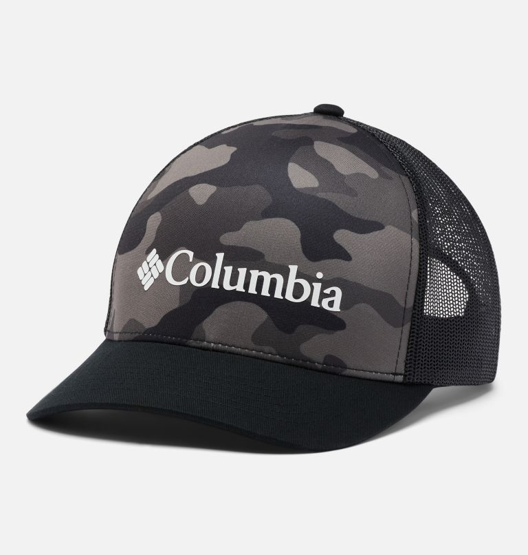 Punchbowl™ Trucker | 010 | O/S Punchbowl™ Trucker Hat, Black Mod Camo Print, front