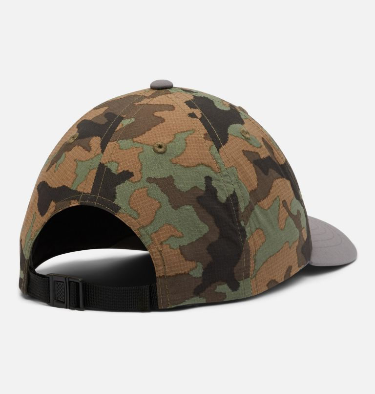 Youth Tech™ Ball Cap | 024 | O/S Kids' Tech™ Ball Cap, Cypress Camo, City Grey, back