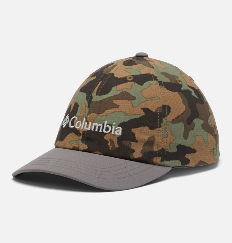 Youth Tech™ Ball Cap | 024 | O/S Kids' Tech™ Ball Cap, Cypress Camo, City Grey, front