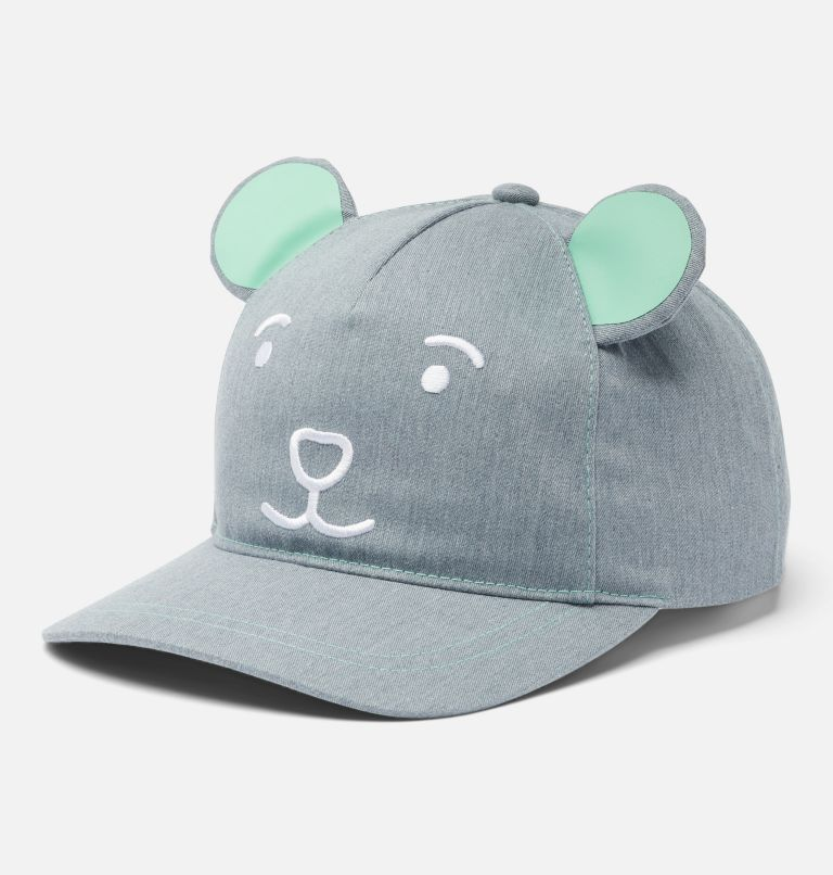 Y Tiny Animal™ Ball Cap | 039 | O/S Kids' Tiny Animal™ Ball Cap, Columbia Grey Heather, front