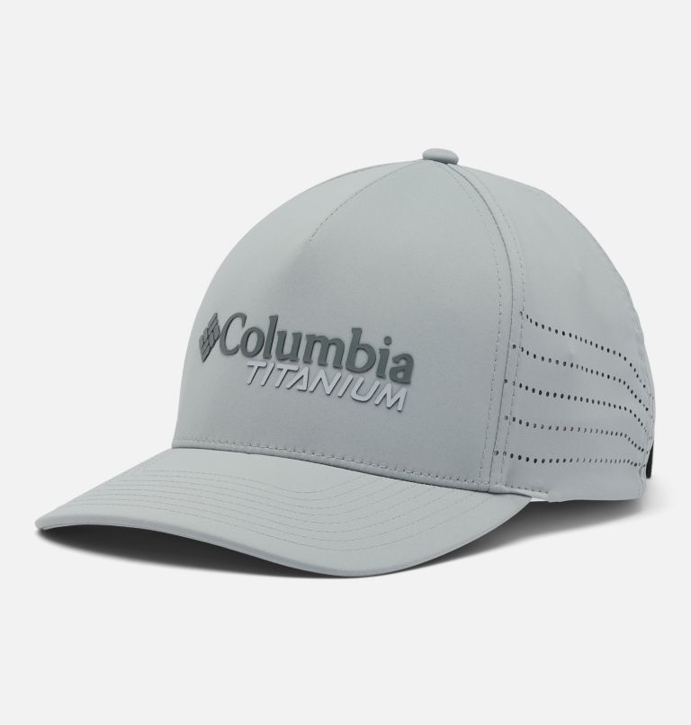 Titanium™ Ball Cap | 039 | O/S Titanium™ Ball Cap, Columbia Grey, front