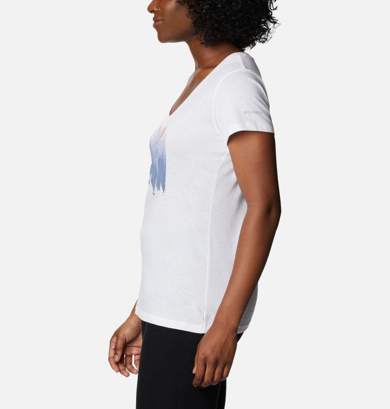 T-shirt col V imprimé Daisy Days™ pour femme T-shirt col V imprimé Daisy Days™ pour femme, a1