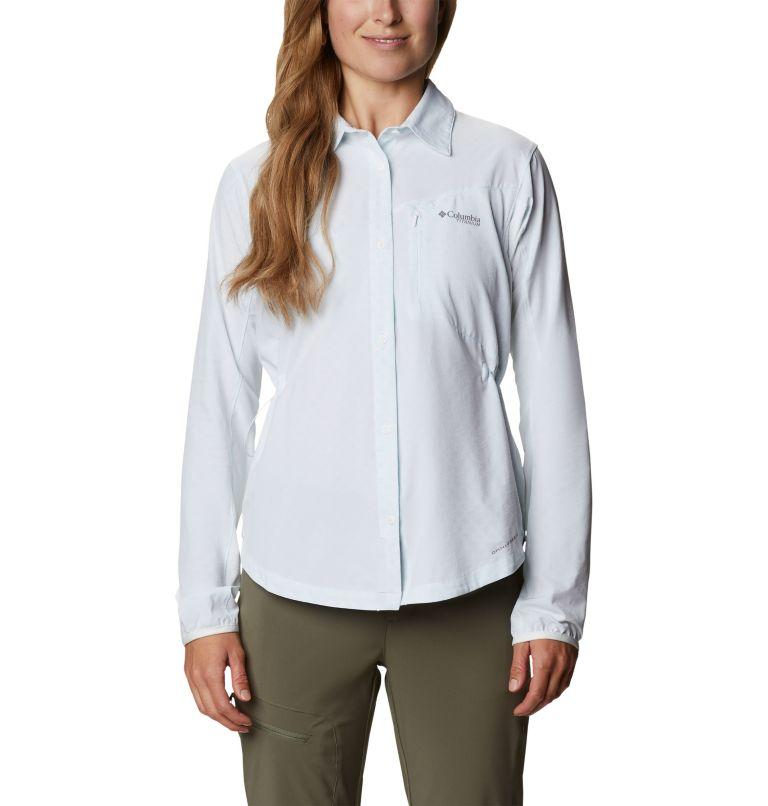 W Mazama Trail™ Woven LS | 100 | XS Women's Mazama Trail™ Woven Long Sleeve Shirt, White, front