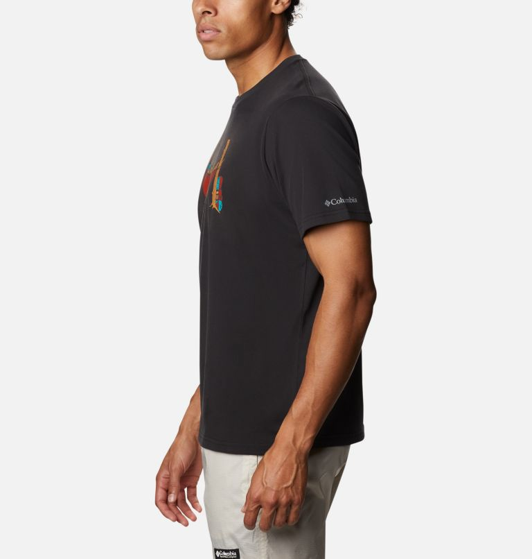 Columbia Elements™ Graphic Tee II | 010 | XXL T-shirt imprimé Columbia Elements™ II pour homme, Black Bearly Napping, a1