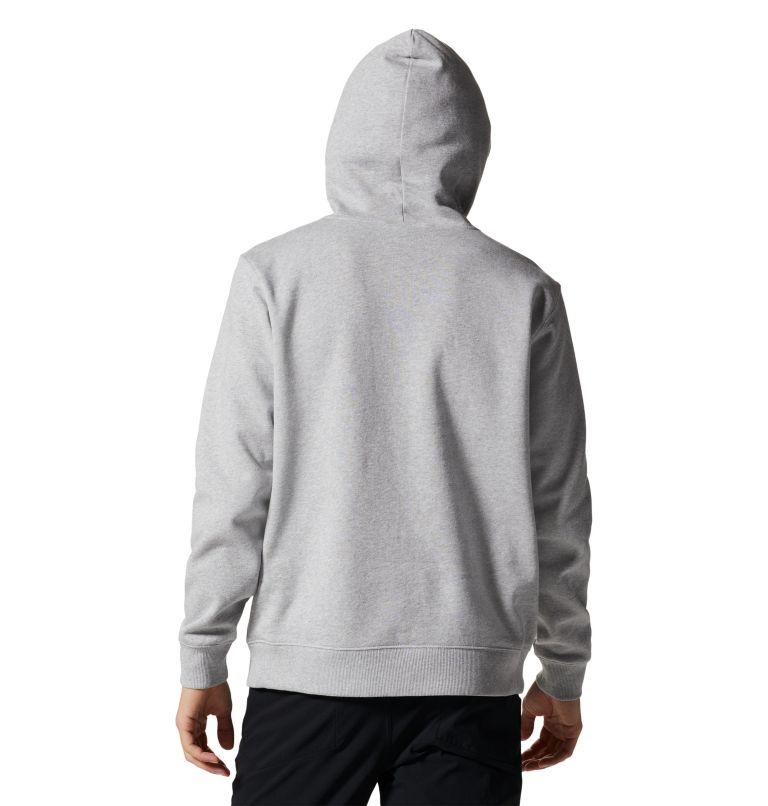 MHW Logo™ Pullover Hoody | 057 | XXL Men's MHW Logo™ Pullover Hoody, Hardwear Grey Heather, back