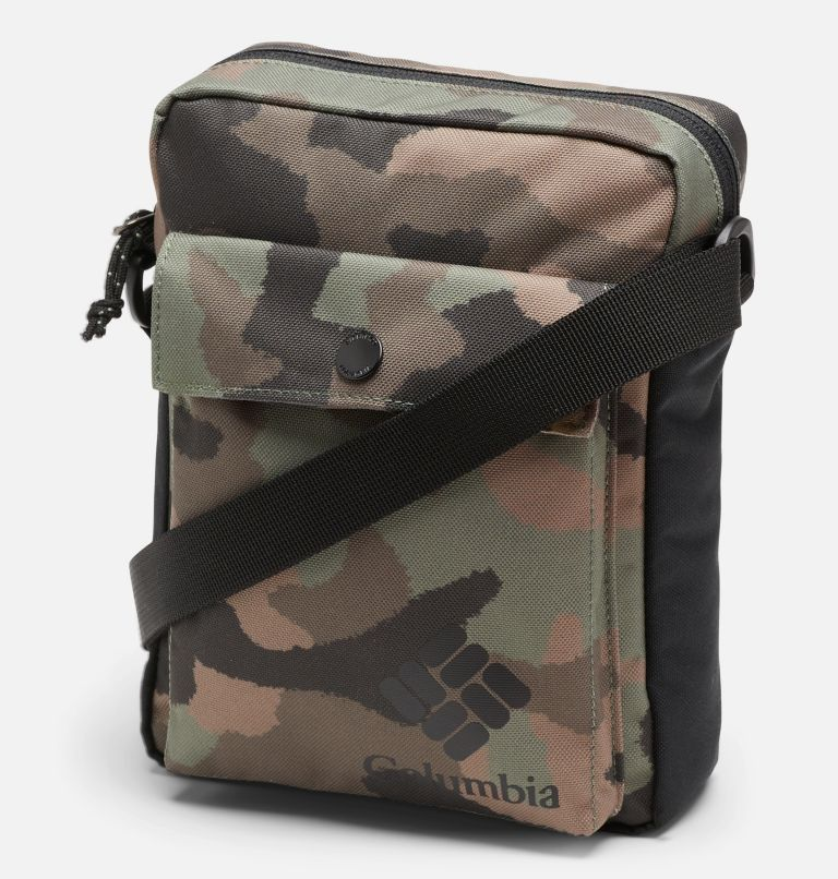 Zigzag™ Side Bag | 316 | O/S Bandolera Zigzag™ unisex, Cypress Camo, Black, front