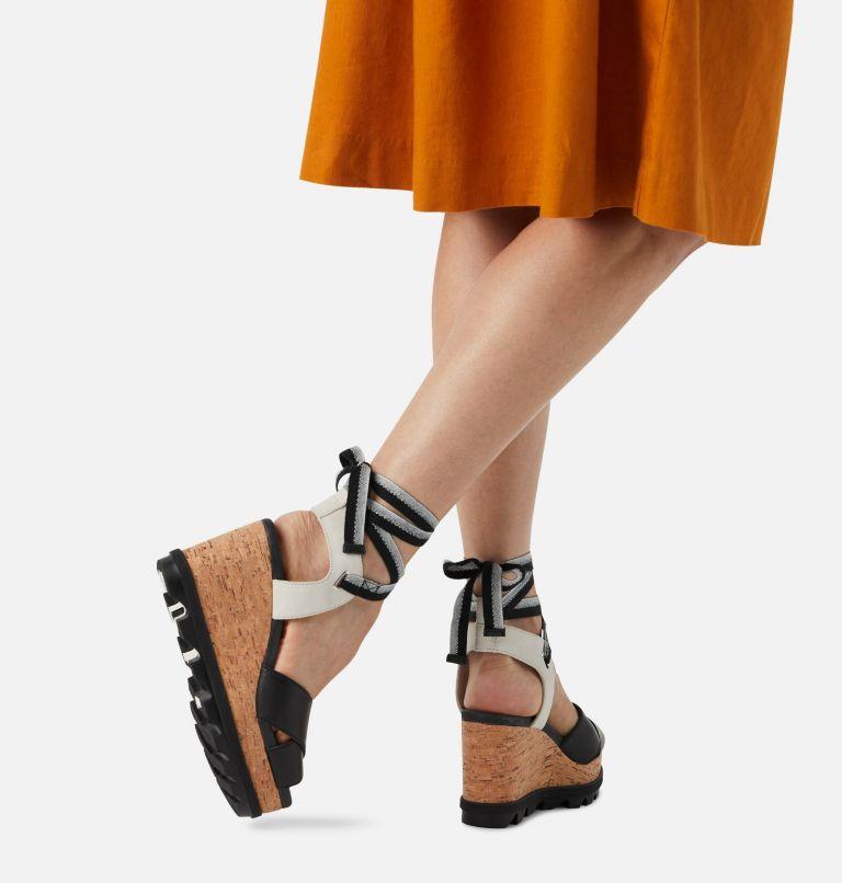 JOANIE™ II HI ANKLE LACE | 010 | 9 Womens Joanie™ II Hi Ankle Lace Wedge Sandal, Black, a9