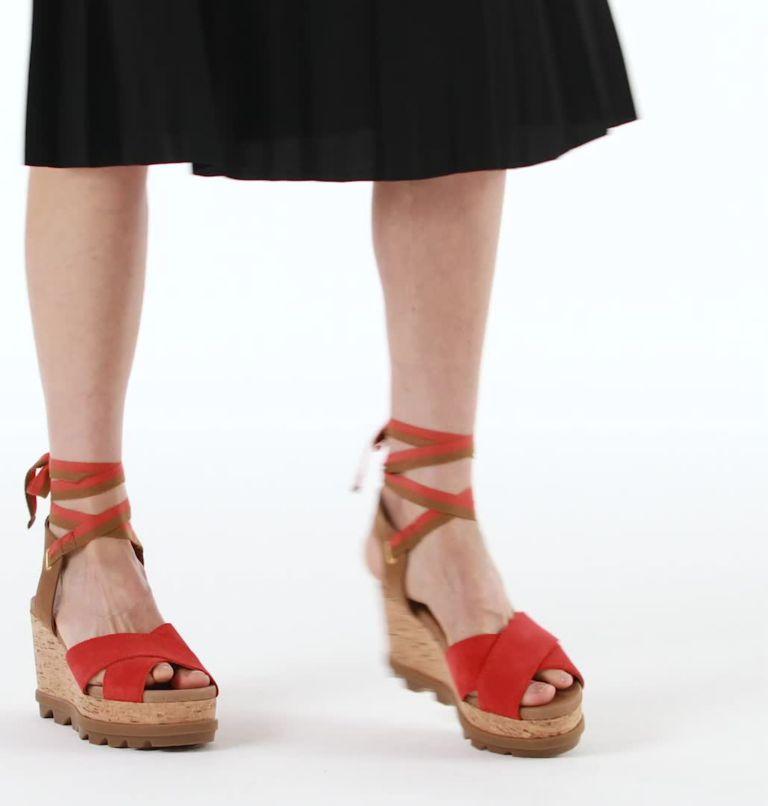 Womens Joanie™ II Hi Ankle Lace Wedge Sandal Womens Joanie™ II Hi Ankle Lace Wedge Sandal, video