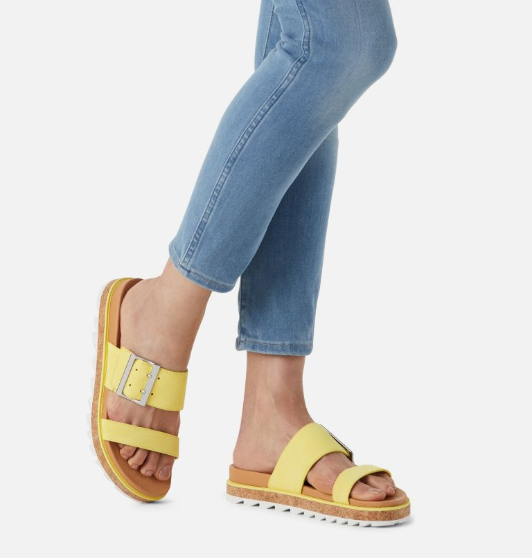 ROAMING™ SLIDE | 757 | 8.5 Womens Roaming™ Buckle Slide, Sunnyside, a9