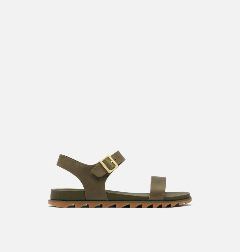 ROAMING™ DECON ANKLE STRAP | 319 | 9.5 Womens Roaming™ Decon Ankle Strap Sandal, Olive Green, front