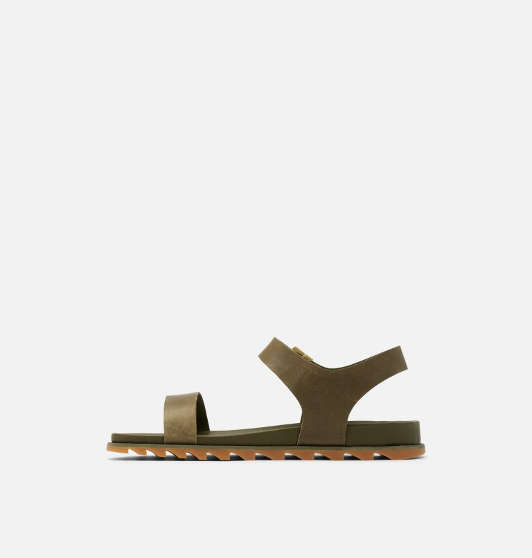 ROAMING™ DECON ANKLE STRAP | 319 | 9.5 Womens Roaming™ Decon Ankle Strap Sandal, Olive Green, medial