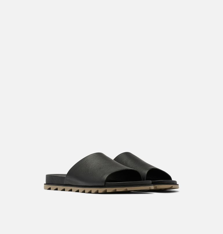ROAMING™ DECON SLIDE | 010 | 8.5 Sandale-mule Roaming™ Decon pour femme, Black, 3/4 front