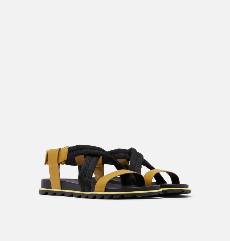 ROAMING™ DECON SANDAL | 236 | 9.5 Womens Roaming™ Decon Sandal, Dioxide Gold, 3/4 front