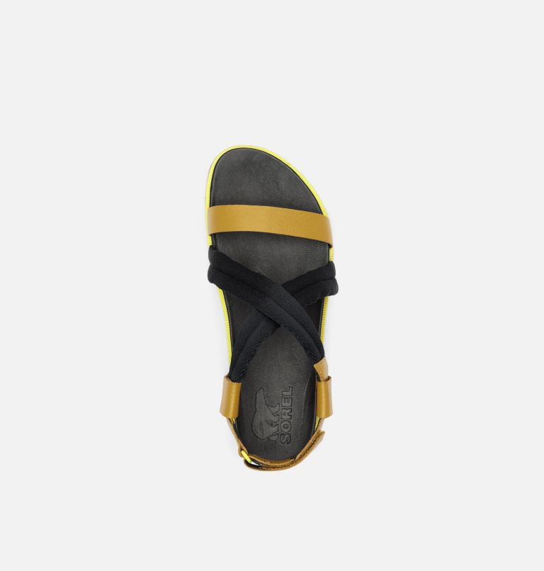 ROAMING™ DECON SANDAL   236   11 Womens Roaming™ Decon Sandal, Dioxide Gold, top