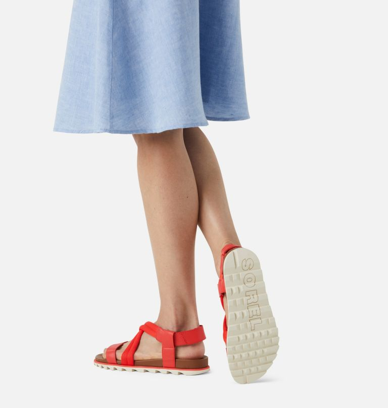 ROAMING™ DECON SANDAL | 854 | 11 Womens Roaming™ Decon Sandal, Signal Red, a9