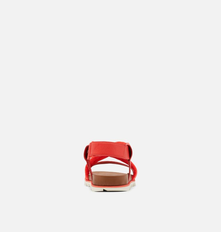 ROAMING™ DECON SANDAL   854   10.5 Womens Roaming™ Decon Sandal, Signal Red, back