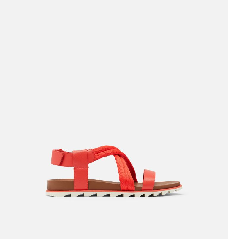 ROAMING™ DECON SANDAL   854   10.5 Womens Roaming™ Decon Sandal, Signal Red, front