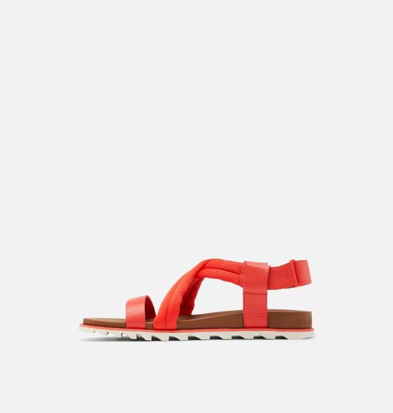 ROAMING™ DECON SANDAL   854   10.5 Womens Roaming™ Decon Sandal, Signal Red, medial
