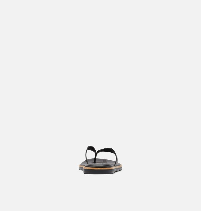 ELLA™ II FLIP | 010 | 5 Womens Ella™ II Flip Sandal, Black, Sea Salt, back